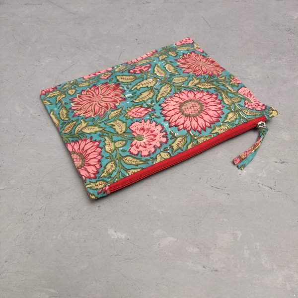 Sunflower Large Canvas Pouch LCP25