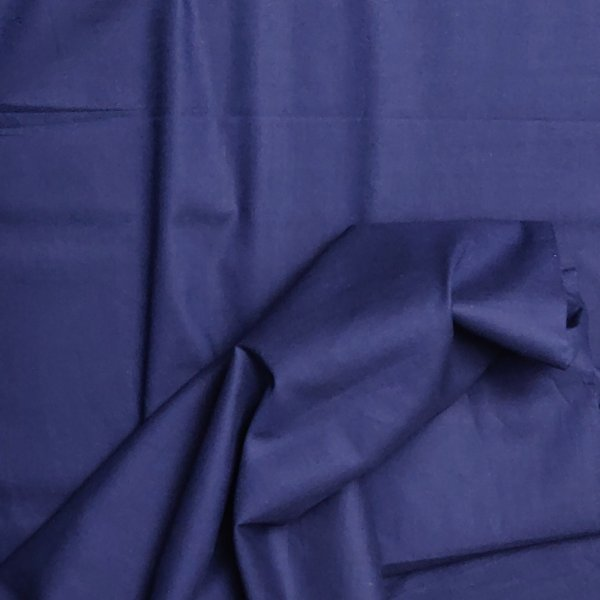 Navy Blue Plain Fabric