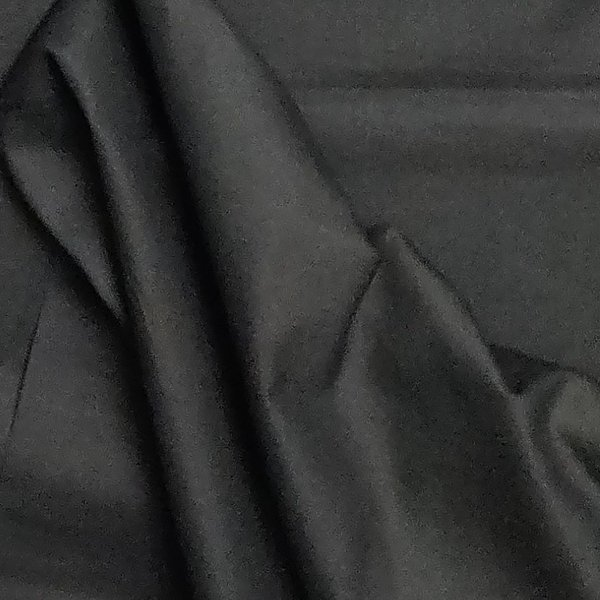 Black Plain Fabric