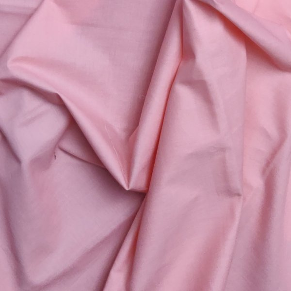Baby Pink Plain Fabric
