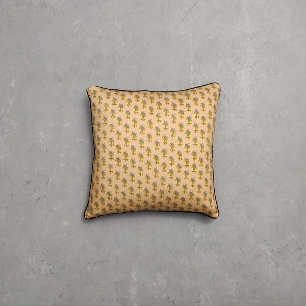 Reversible Multi Handblock Printed Cushion Cover CC43