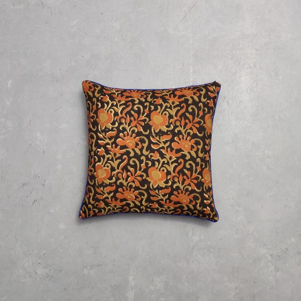 Reversible Bagru Handblock Printed Cushion Cover CC45
