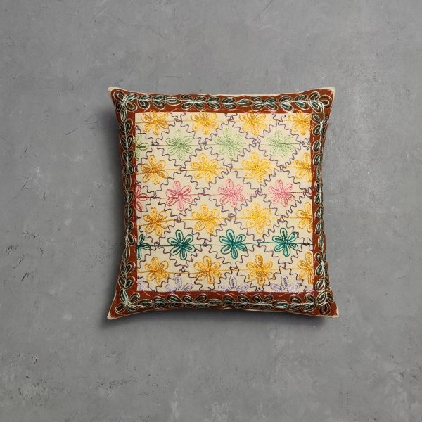 Embroidery Cushion Cover CC10