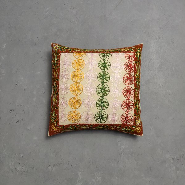 Embroidery Cushion Cover CC14