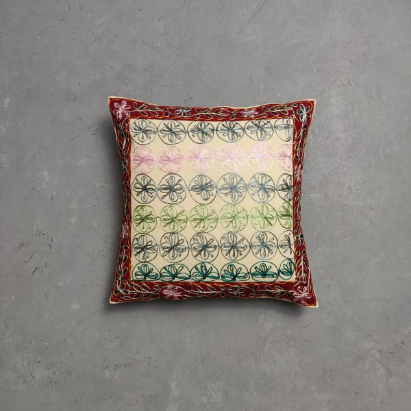 Embroidery Cushion Cover CC15