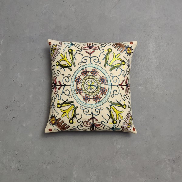 Embroidery Cushion Cover CC16