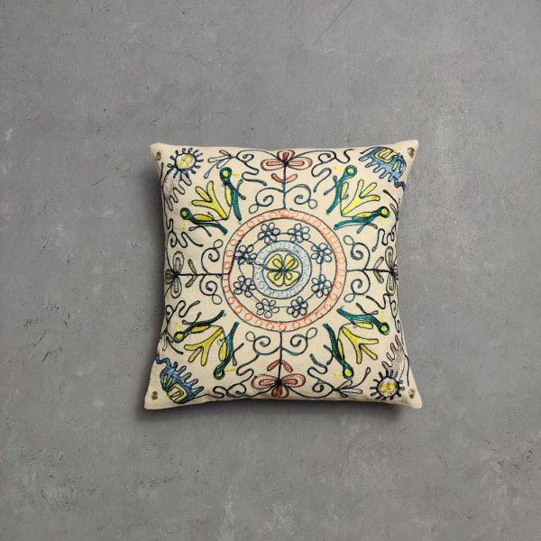 Embroidery Cushion Cover CC18
