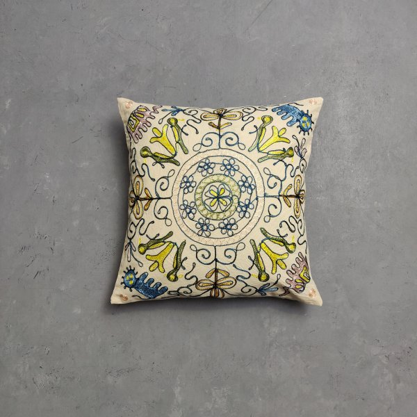 Embroidery Cushion Cover CC19