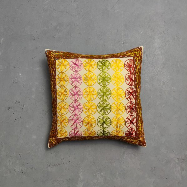 Embroidery Cushion Cover CC9
