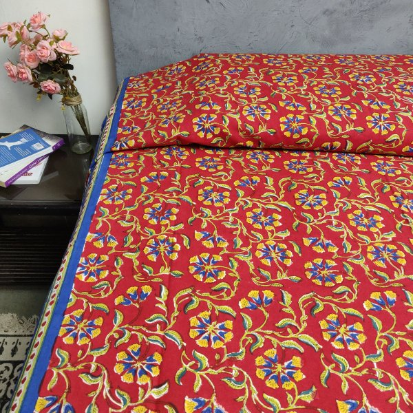 Handblock Single Bedsheet BHS71