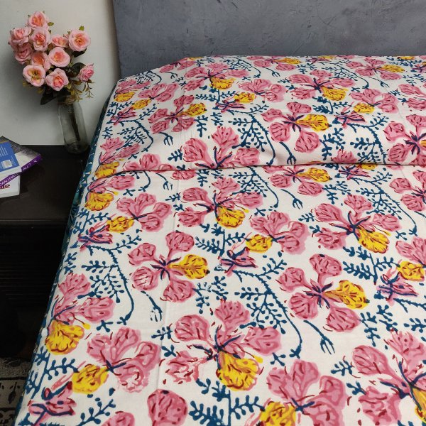 Handblock Single Bedsheet BHS72