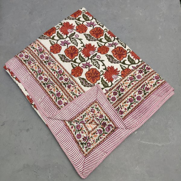 Jaal Floral Double Size Dohar