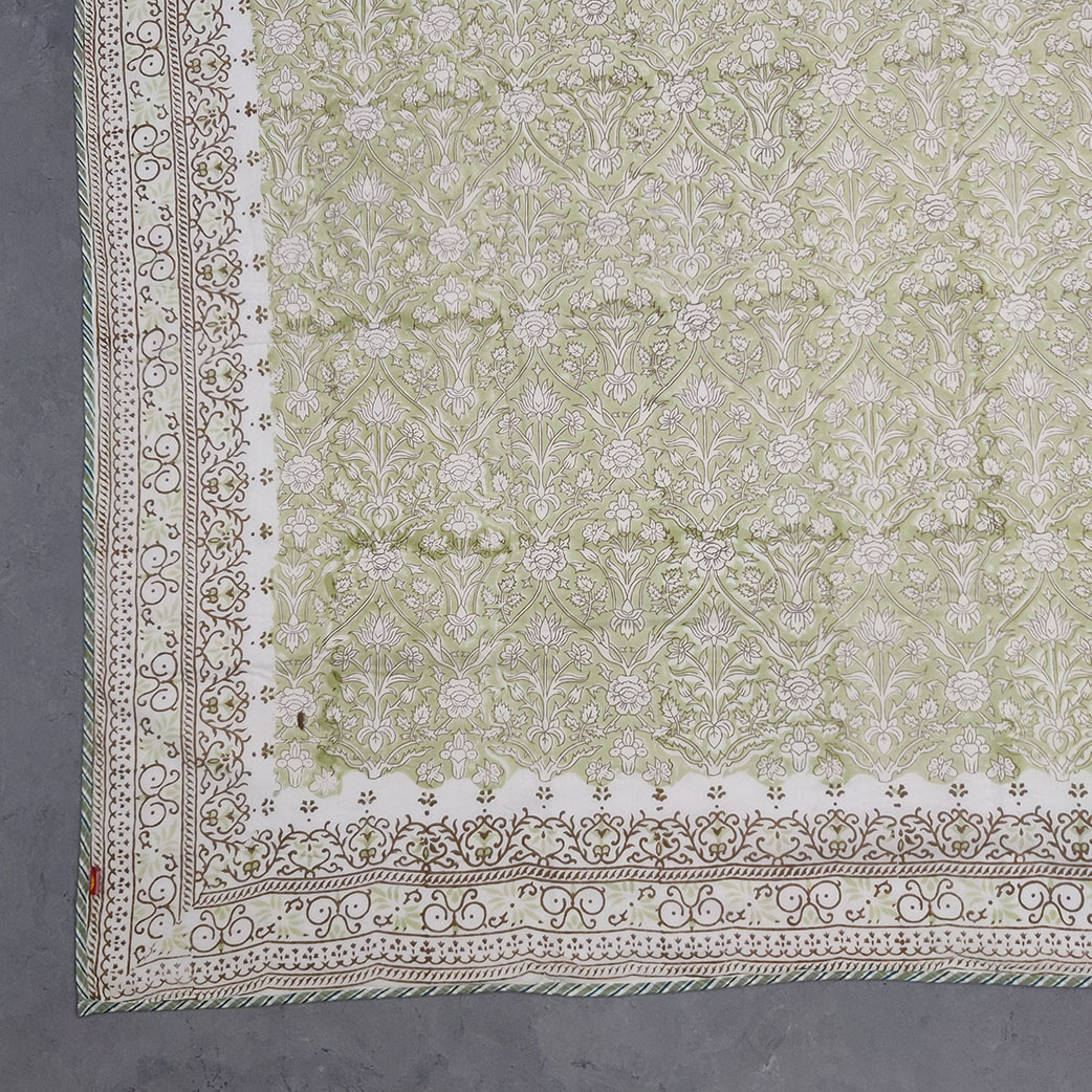 Light Green Single Size Dohar