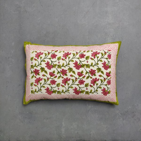 Handblock Pillow Cover HPC109