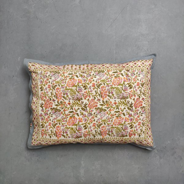 Handblock Pillow Cover HPC112