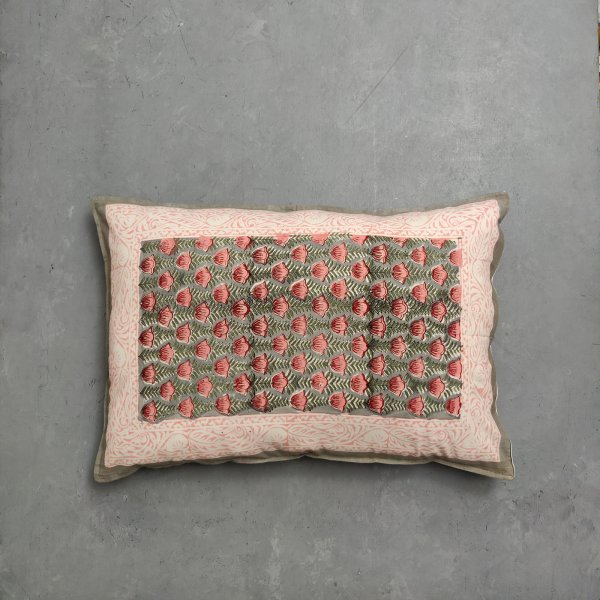 Handblock Pillow Cover HPC113
