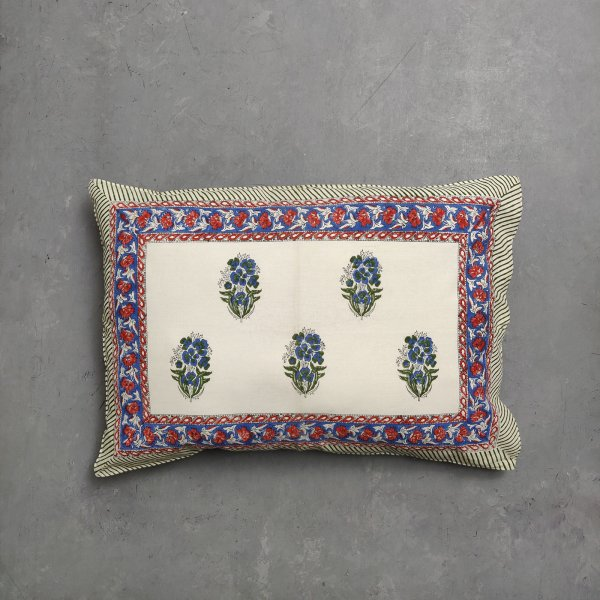 Handblock Pillow Cover HPC116