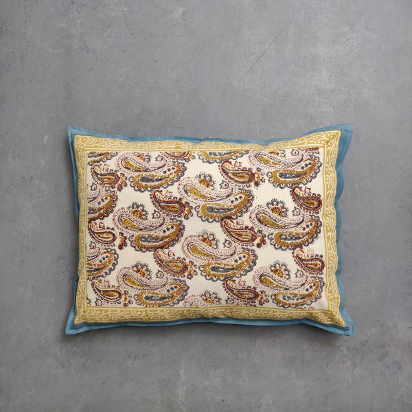 Handblock Pillow Cover HPC118
