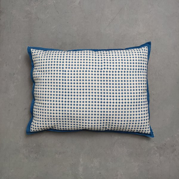 Handblock Pillow Cover HPC120