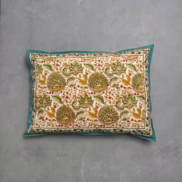 Handblock Pillow Cover HPC122