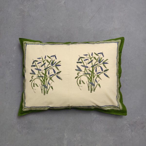 Handblock Pillow Cover HPC125