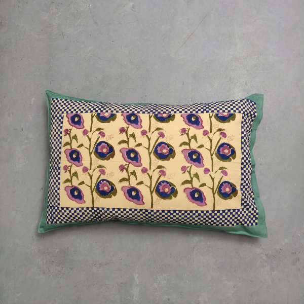 Handblock Pillow Cover HPC129