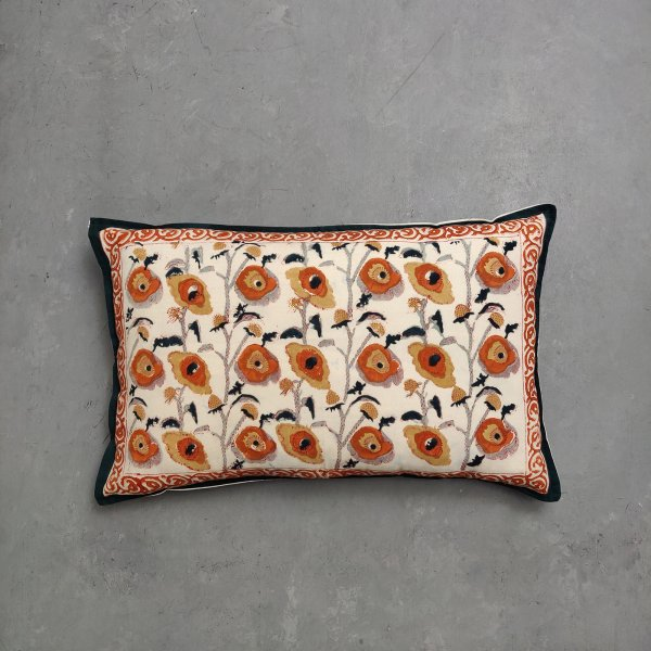 Handblock Pillow Cover HPC133