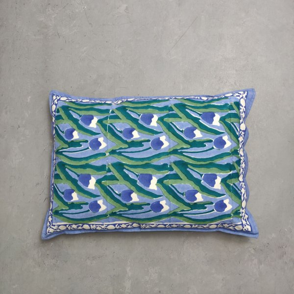 Handblock Pillow Cover HPC134