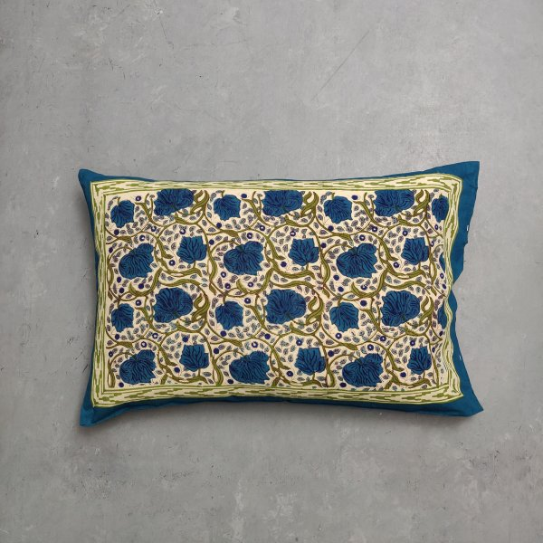 Handblock Pillow Cover HPC136