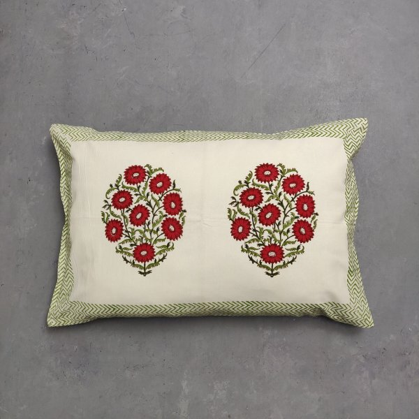 Handblock Pillow Cover HPC138