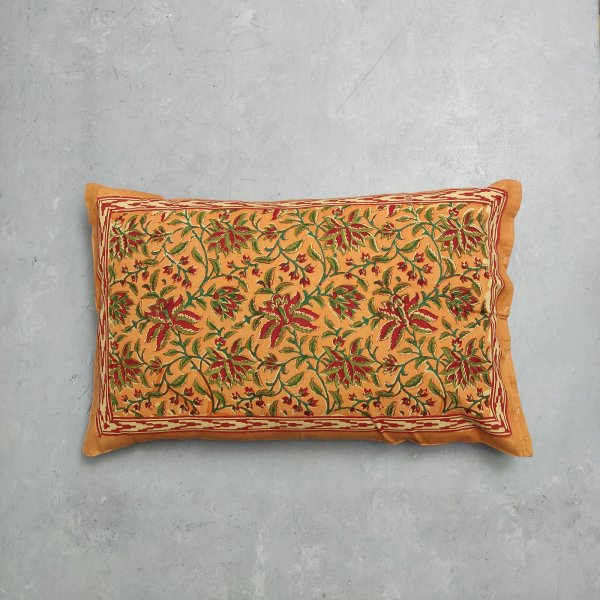 Handblock Pillow Cover HPC139