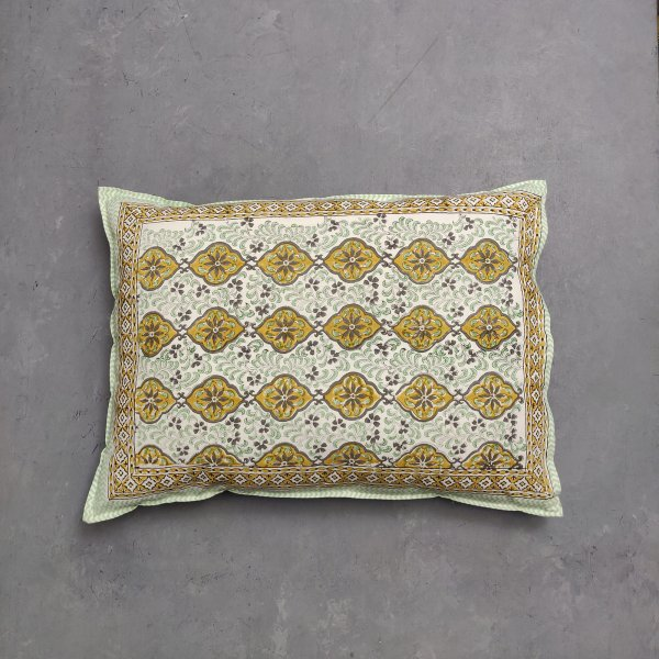 Handblock Pillow Cover HPC140