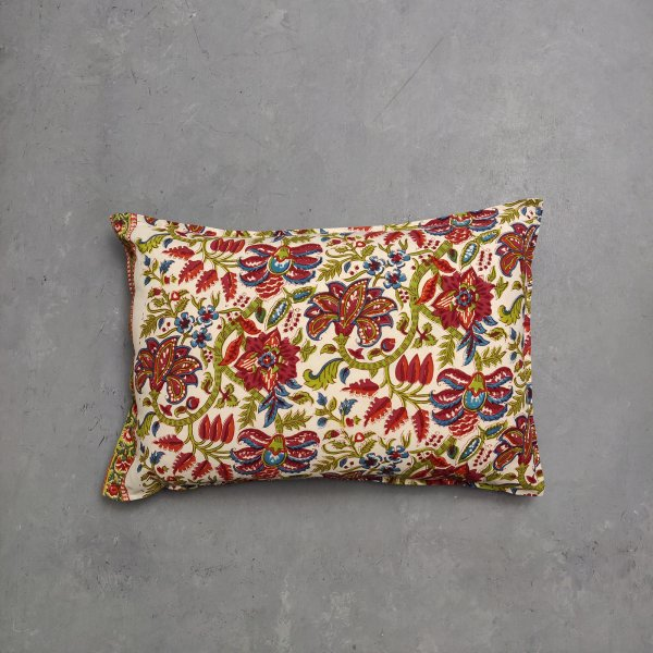Handblock Pillow Cover HPC141