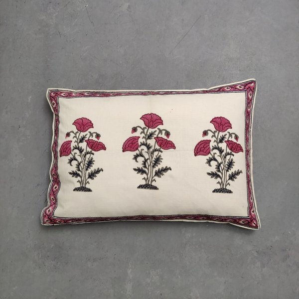 Handblock Pillow Cover HPC143