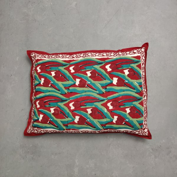 Handblock Pillow Cover HPC144
