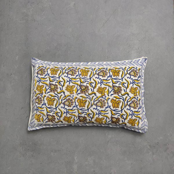 Handblock Pillow Cover HPC145