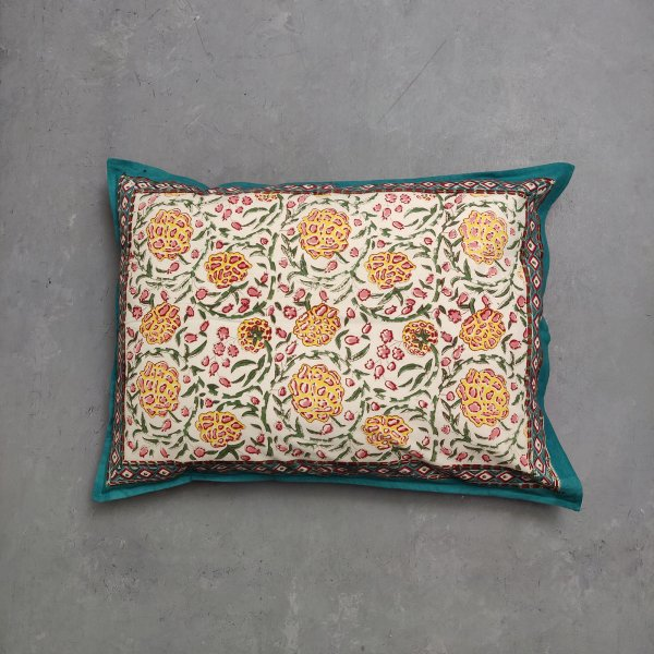 Handblock Pillow Cover HPC152