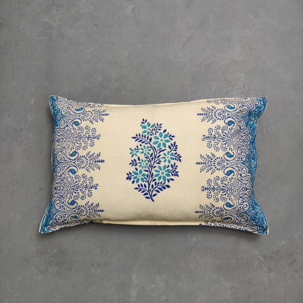 Handblock Pillow Cover HPC157