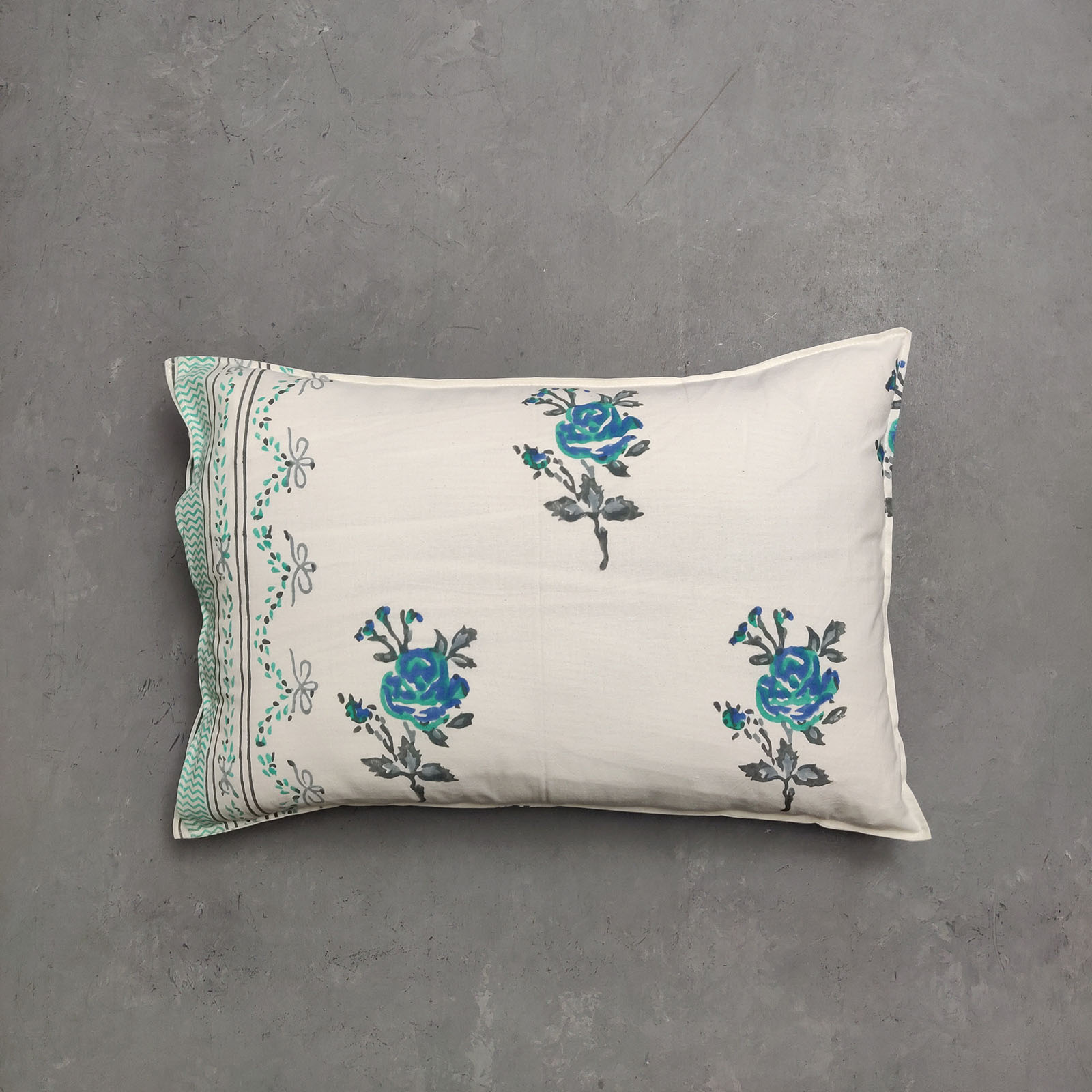 Handblock Pillow Cover HPC161