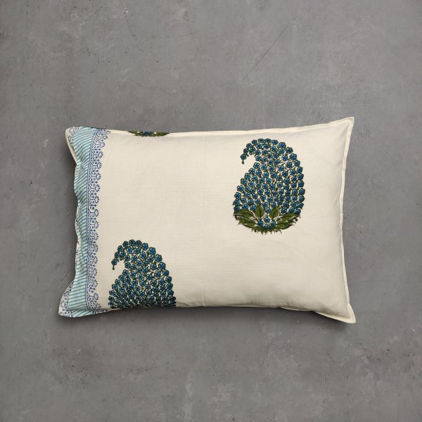 Handblock Pillow Cover HPC163