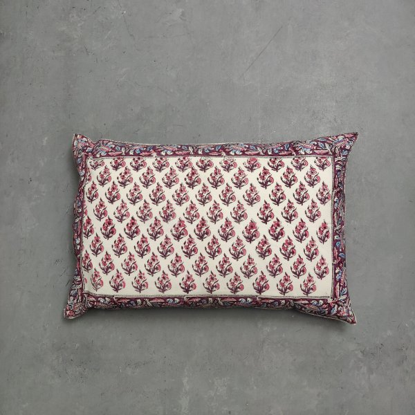 Handblock Pillow Cover HPC165
