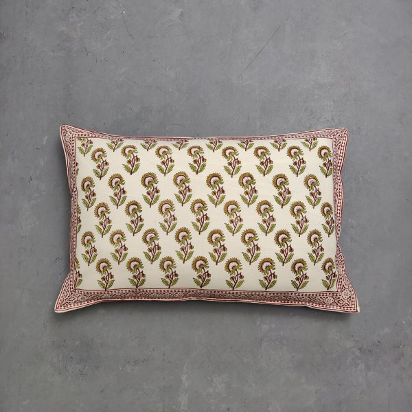 Handblock Pillow Cover HPC167