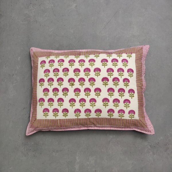 Handblock Pillow Cover HPC168