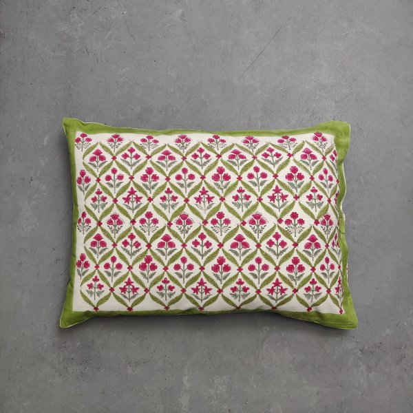 Handblock Pillow Cover HPC187