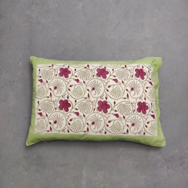 Handblock Pillow Cover HPC188