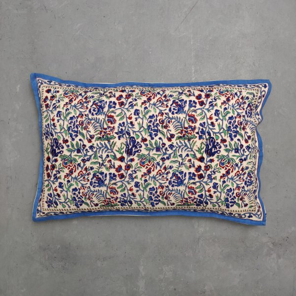 Handblock Pillow Cover HPC190