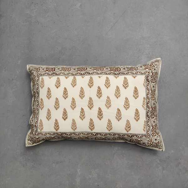 Handblock Pillow Cover HPC195