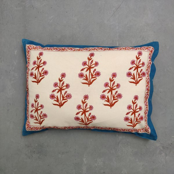 Handblock Pillow Cover HPC202