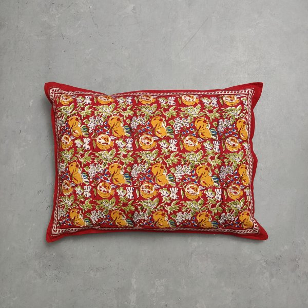 Handblock Pillow Cover HPC206