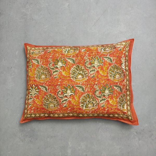 Handblock Pillow Cover HPC207